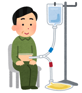 腹膜透析の準備