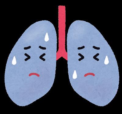 透析患者さんと肺
