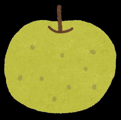 透析患者さんと秋の果物