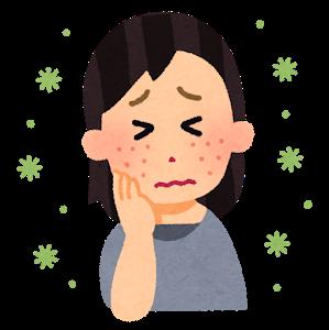 透析患者さんと乾燥肌