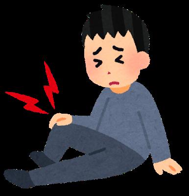透析患者さんと膝の痛み