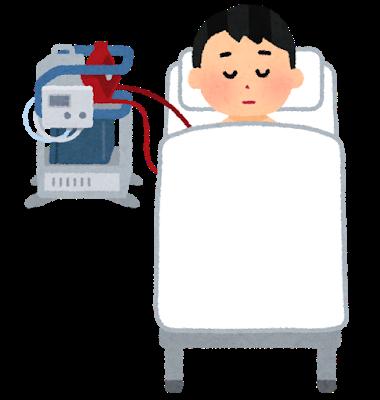 透析患者さんと肺炎