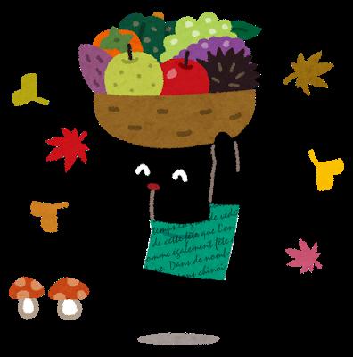 透析患者さんと秋の食材