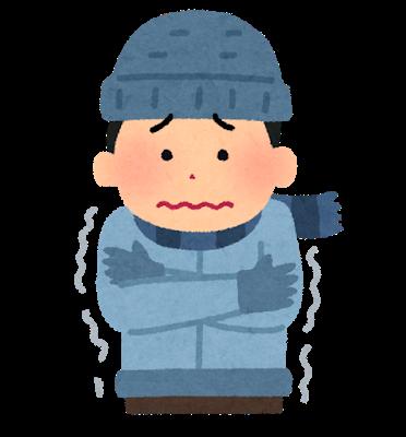 透析患者さんと寒い日の体温調節