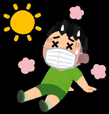 熱中症とマスク
